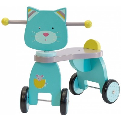 Moulin Roty Les Pachats Toddler Ride-On Cat 45x24.5x46cm