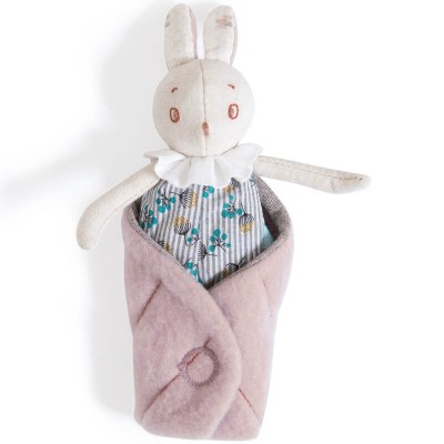 Moulin Roty Apres la Pluie Mousse the Rabbit Soft Toy 16cm