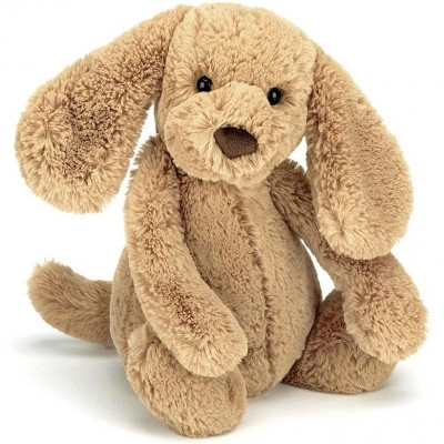 Jellycat Bashful Toffee Puppy - Medium 31cm