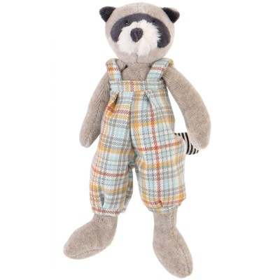 Moulin Roty La Grande Famille Small Simon the Raccoon 20cm