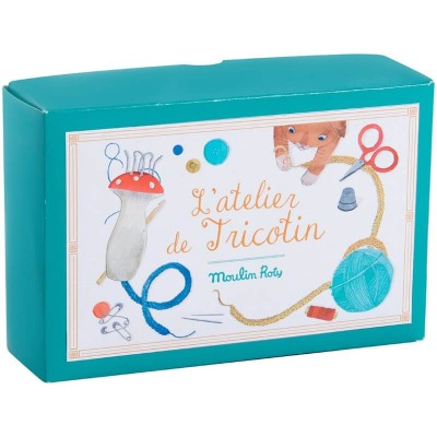 Moulin Roty Les Jouets d'Hier French Knitting Kit 12.5x19x5.5cm