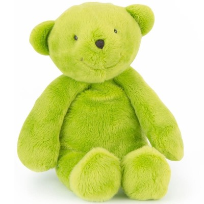 Moulin Roty Les P'tits Doudous Children's Charity Bear - Green 30cm