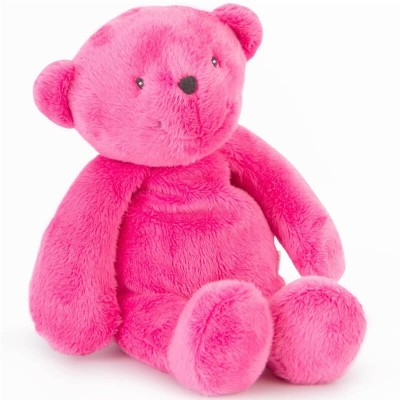 Moulin Roty Les P'tits Doudous Children's Charity Bear - Pink 30cm