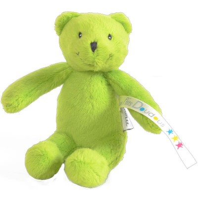 Moulin Roty Les P'tits Doudous Small Green Bear 12cm (Childrens Charity)