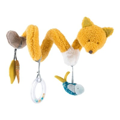 Moulin Roty Le Voyage d'Olga Chaussette the Fox Activity Spiral 30cm