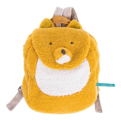 Moulin Roty Le Voyage d'Olga Chaussette the Fox Backpack 23x29cm