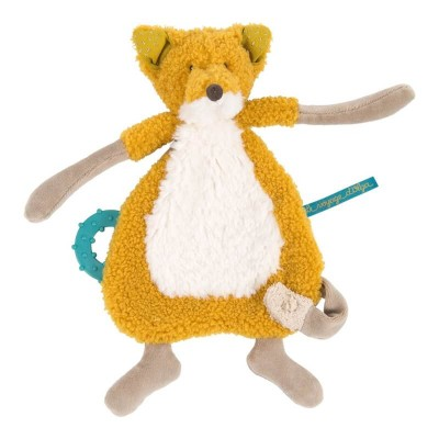 Moulin Roty Le Voyage d'Olga Chaussette the Fox Comforter with Soother Holder 30cm