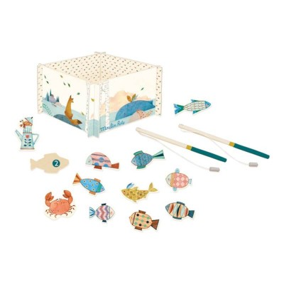 Moulin Roty Le Voyage d'Olga Fishing Game 19.5x12cm