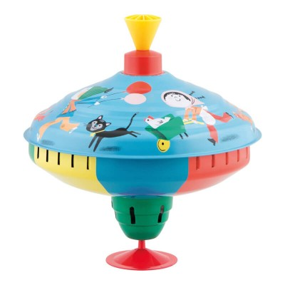 Moulin Roty Les Bambins Large Spinning Top 22x23cm