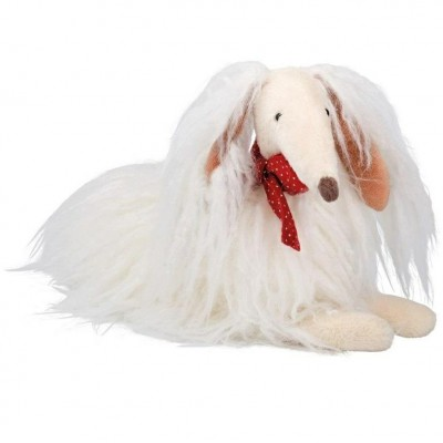 Moulin Roty Les Coquettes Scarlette The White Dog 35cm
