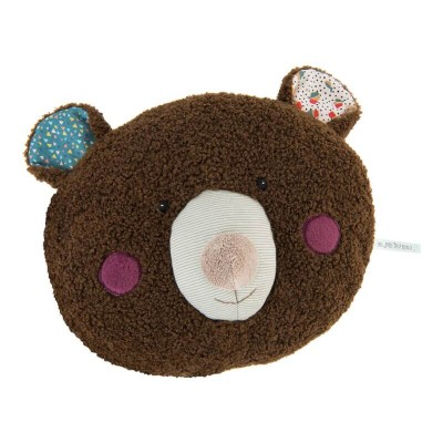 Moulin Roty Les Jolis Trop Beaux Bear Pyjama Case / Cushion 32x28cm