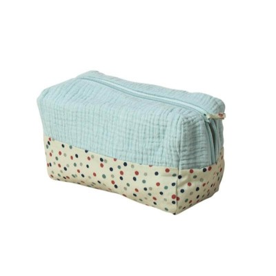 Moulin Roty Les Jolis Trop Beaux Blue Toiletry Bag 20x10x11cm