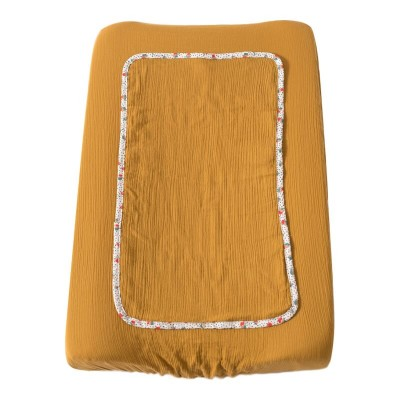 Moulin Roty Les Jolis Trop Beaux Ochre Changing Mat Cover 45x70cm