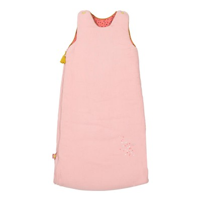 Moulin Roty Les Jolis Trop Beaux Pink Extendable Baby Sleeping Bag 90/110cm (3.3 TOG)