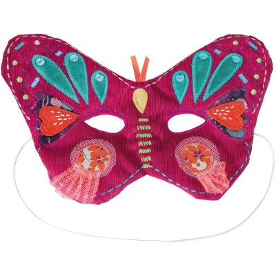 Moulin Roty Les Mask'ottes Lizon Butterfly Mask 18mos+