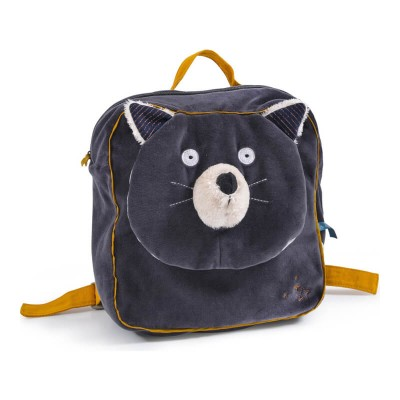 Moulin Roty Les Moustaches Alphonse the Cat Backpack 23x29cm