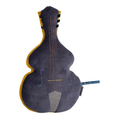 Moulin Roty Les Moustaches Double Bass Cushion 22x37cm