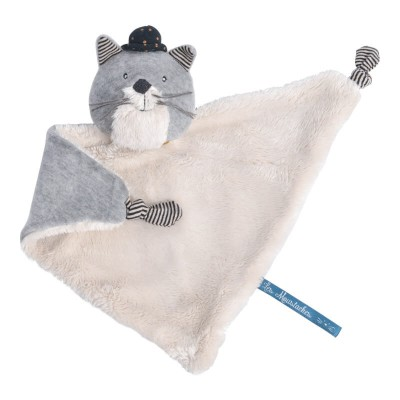 Moulin Roty Les Moustaches Fernand the Cat Baby Comforter 27cm