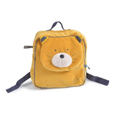Moulin Roty Les Moustaches Lulu the Cat Backpack 23x29cm