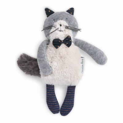 Moulin Roty Les Moustaches Mini Fernand the Cat Doll 19cm