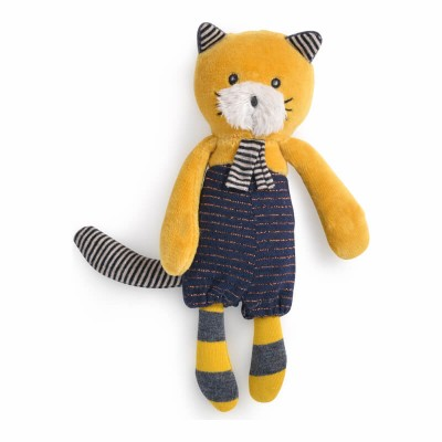 Moulin Roty Les Moustaches Mini Lulu the Cat Doll 18cm
