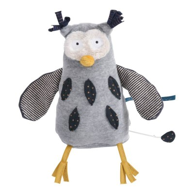 Moulin Roty Les Moustaches Mister Owl Musical Doll 18cm
