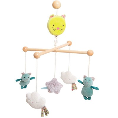 Moulin Roty Les Pachats Musical Mobile 35x65cm