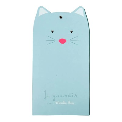 Moulin Roty Les Pachats Wall Hanging Fold-Up Height Chart 15x138cm