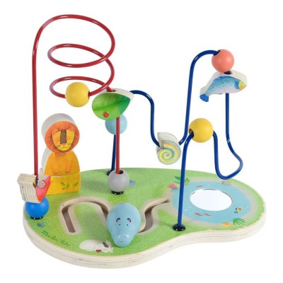Moulin Roty Les Papoum Bead Maze Activity Toy 27.5x18x22cm