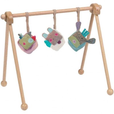 Moulin Roty Wooden Play Frame 56x15x40cm