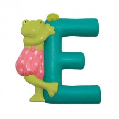 "Moulin Roty La Grande Famille ""E"" Resin Letter 7cm (632838)"