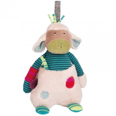 Moulin Roty Les Jolis Pas Beaux Musical Sheep 29cm