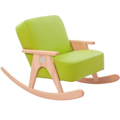 Anis Pleather Rocking Chair